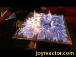 Pyro Board: 2D Rubens' Tube!,Education,,Standing waves of fire!Check out Audible: http://bit.ly/AudibleVeFysikshow: http://bit.ly/Fysikshow - I'm hosting Michio Kaku in Brisbane and Melbourne: http://bit.ly/VeKakuTicketsRubens' Tube is an awesome demo and here we take it to the next level with a