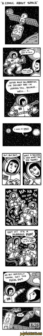"""""""A COMIC ABOUT SPACE"""""""