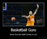 Basketball Guru when the ball itself comes to you De mot I vat ion. us