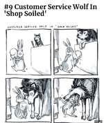 #9 Customer Service Wolf In 'Shop Soiled'