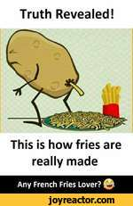 Truth Revealed!This is how fries are really madeAny French Fries Lover?
