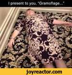 I present to you, Gramoflage...