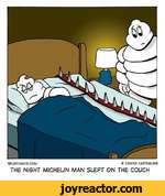 5PUDCOMICS.COM LONNIE EASTERLINGTHE NIGHT MJCHEL1N MAN SLEPT ON THE COUCH