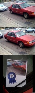 best parking job ever
