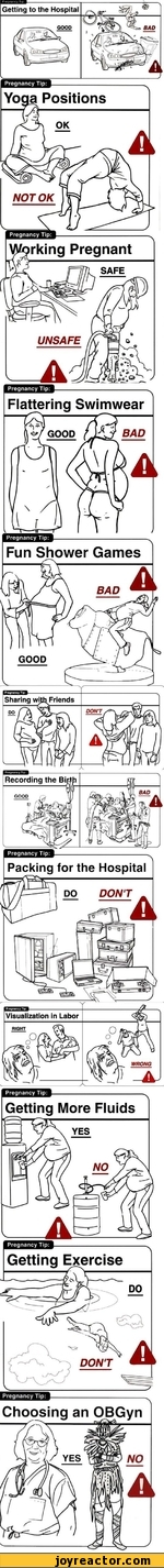 Pregnancy Tip: Getting to the Hospital GOOD Pregnancy Tip: Yoaa Positions Pregnancy Tip Pregnancy Tip Pregnancy Tip Flattering Swimwear Fun Shower Games GOOD Sharing wftb Friends DON'T Recording the Bi GOOD Packing for the Hospital Visualization
