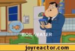 Boil water what am i a chemist?