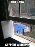 mac's now support windows