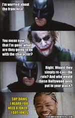 i'm worried about the franchise / Batman :: Joker ...