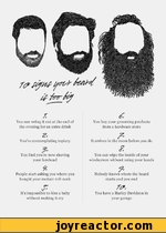 10 signs your beard is too big
