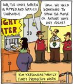kim kardashian finally finds productive work