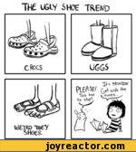 The ugly shoe trend