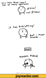 Always pizza