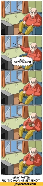 HARRY POTTERAND THE COUCH OF RETIREMENT